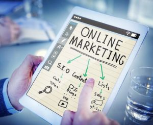 online-marketing concept