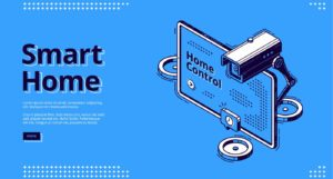 Internet of things isometric website