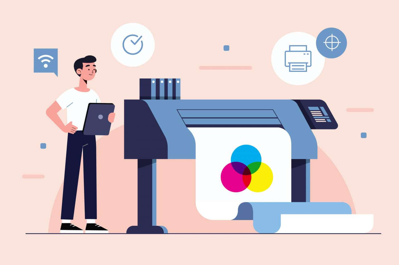 Digital-printing-concept-illustration