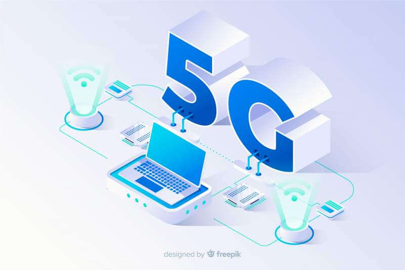Isometric 5g concept