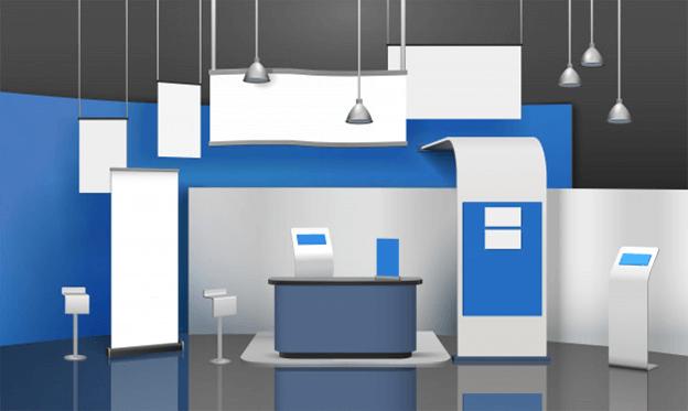 Virtual Trade Show concept