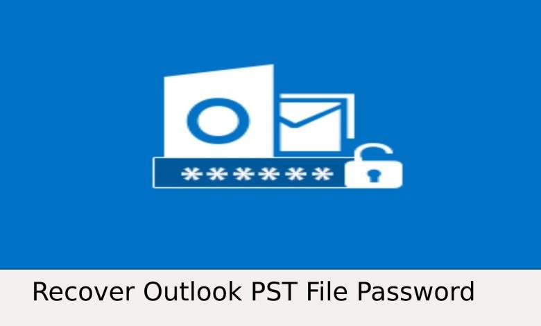 Recover outlook PST File Password