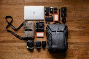 photo-gadgets-on-hardwood-floor